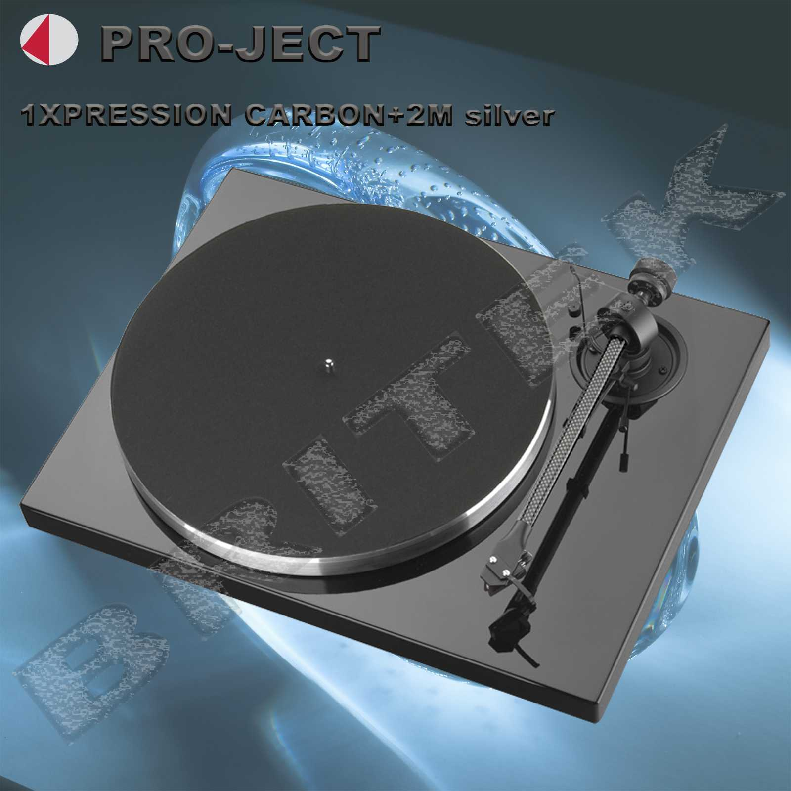 PRO-JECT 1 XPRESSION CARBON CLASSIC+2M silver
