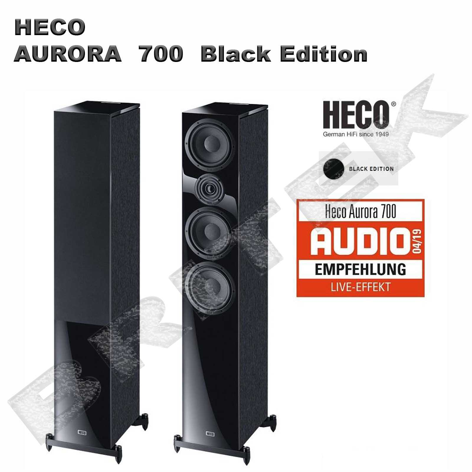 HECO-Aurora 700 black edition