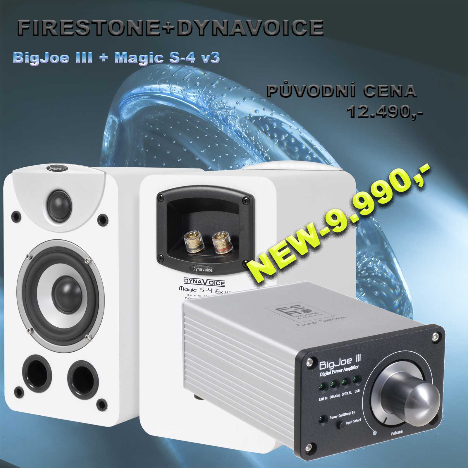 Firestone Audio + Dynavoice S4