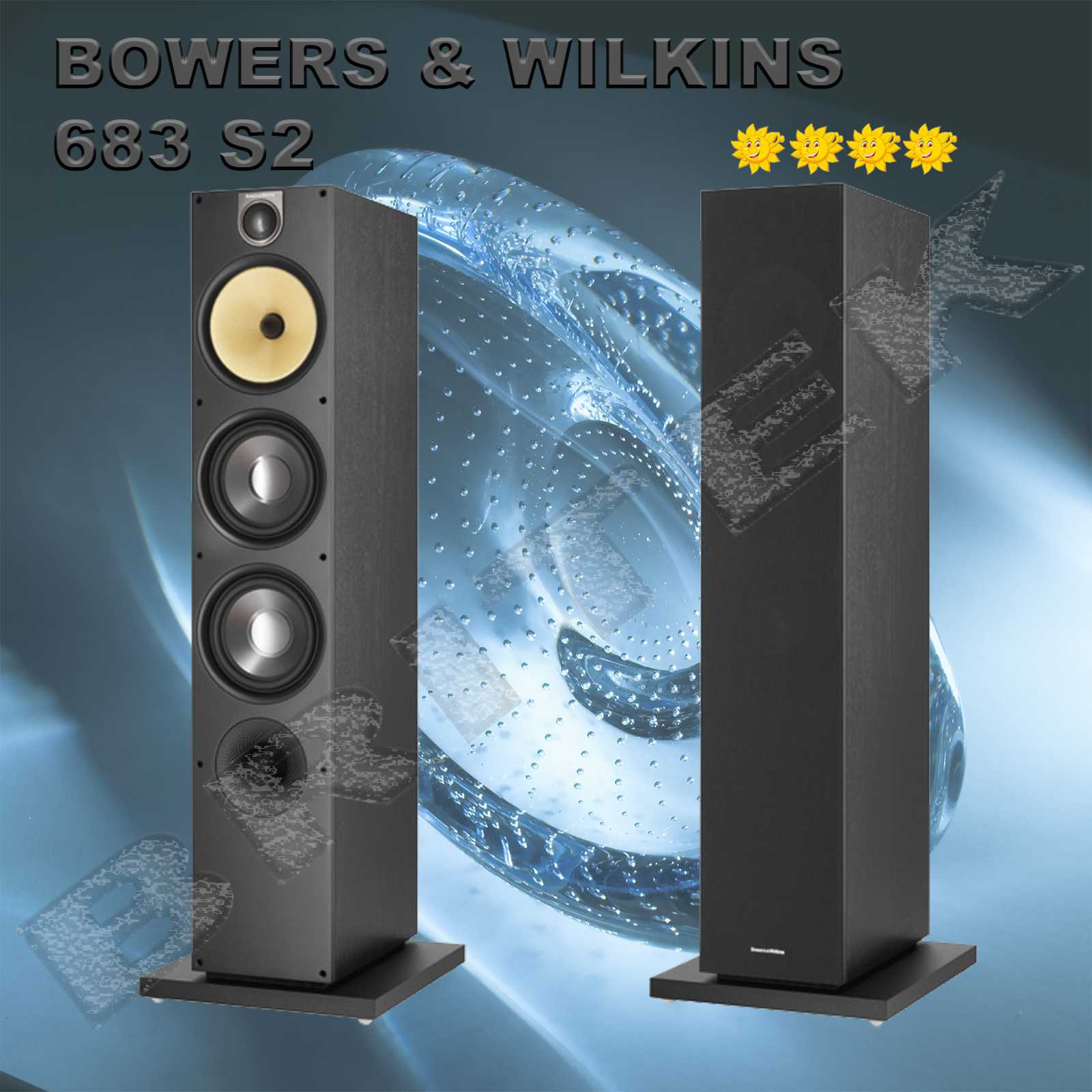 bowers wilkins 683 s2 sloupov repro 3p sma. Black Bedroom Furniture Sets. Home Design Ideas