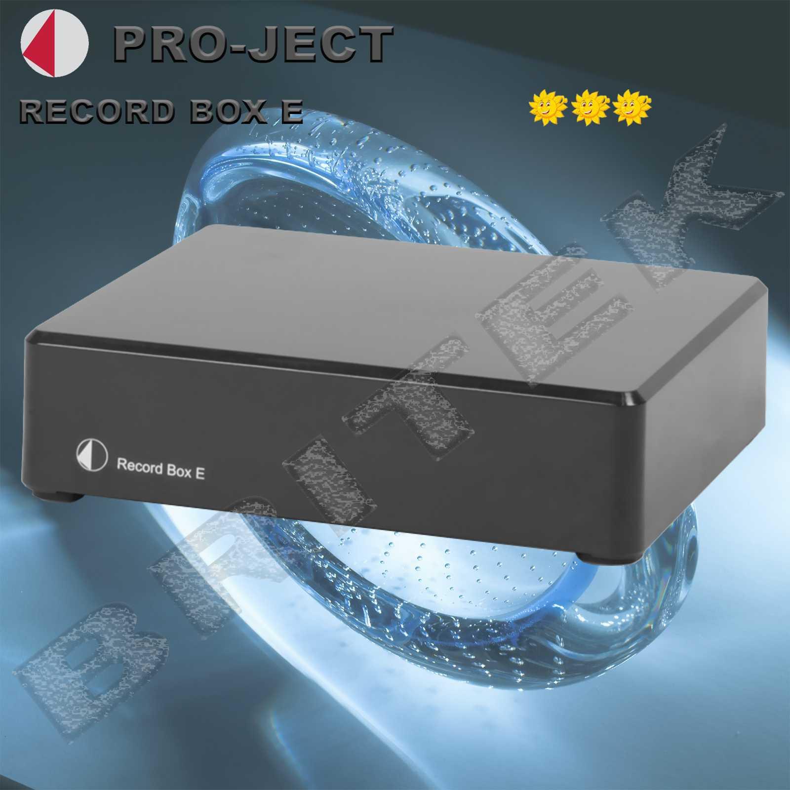 Pro-Ject Record Box E Black